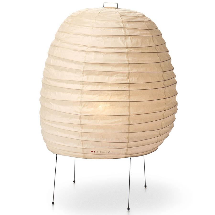 20n akari table lamp by isamu noguchi japanese paper. Black Bedroom Furniture Sets. Home Design Ideas