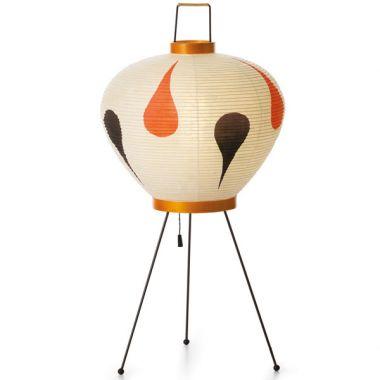 3ad akari table lamp wjapanese paper lantern lamp shade orange 3ad akari table lamp wjapanese paper lantern lamp shade orangeblack aloadofball Images