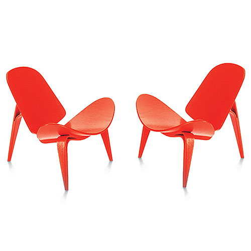 Genial Vitra Miniature 4.75 Inch 3 Legged Chair By Hans J Wegner