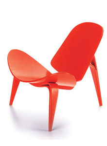 Vitra Miniature 4.75 Inch 3 Legged Chair By Hans J Wegner ...