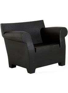 Kartell Bubble Club Modern Outdoor Armchair by Philippe Starck