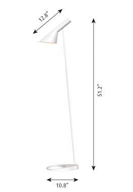 timeless design 29170 8f59d Louis Poulsen Original AJ Modern Floor Lamp by Arne Jacobsen