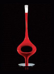 Kundalini Asana Floor Lamp by Giorgio Gurioli