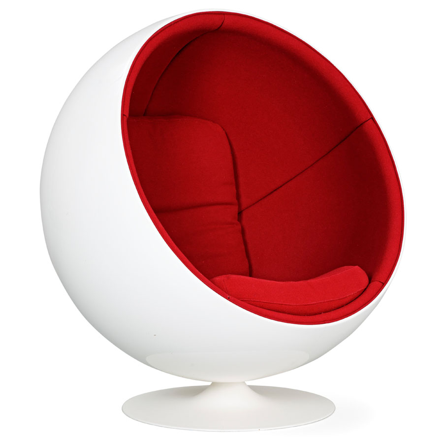 eero saarinen ball chair the image kid has it. Black Bedroom Furniture Sets. Home Design Ideas