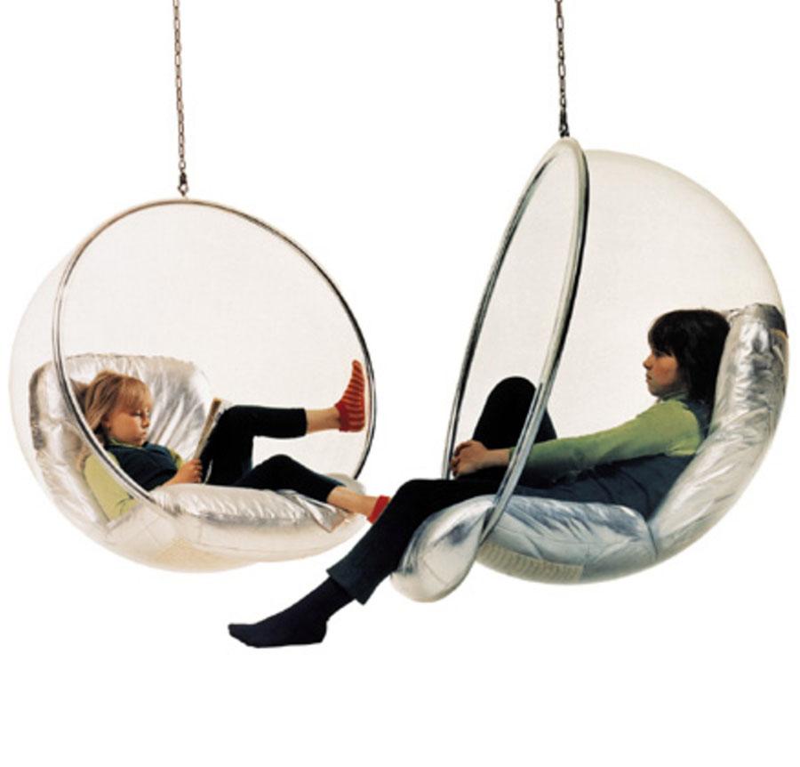 Bubble Chair By Eero Aarnio Stardust