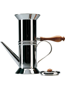 Alessi Espressokocher neapolitan coffee maker 1979 alessi neapolitan coffee makers