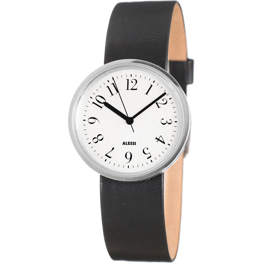 alessi watch buy the alessi brown out time watch utility design  - alessi al record ladies watch white dial w black band alessi