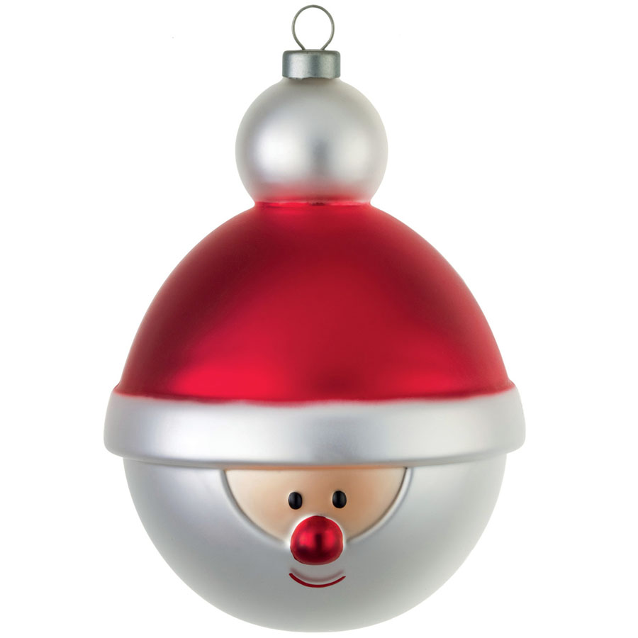 alessi babbonatale christmas ball christmas tree ornament amj13 13 - Christmas Ball Decorations