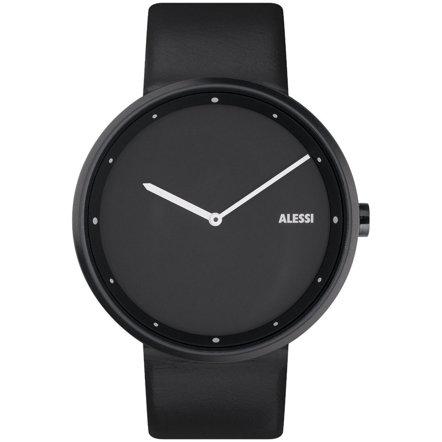 alessi al13001 out time leather men s designer watch by andrea alessi al13001 out time leather mens designer watch