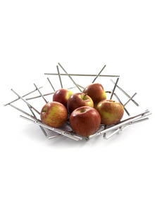 Alessi fc02 blow up wire fruit holding basket by fratelli campana kitchen dining - Alessi fruit basket ...