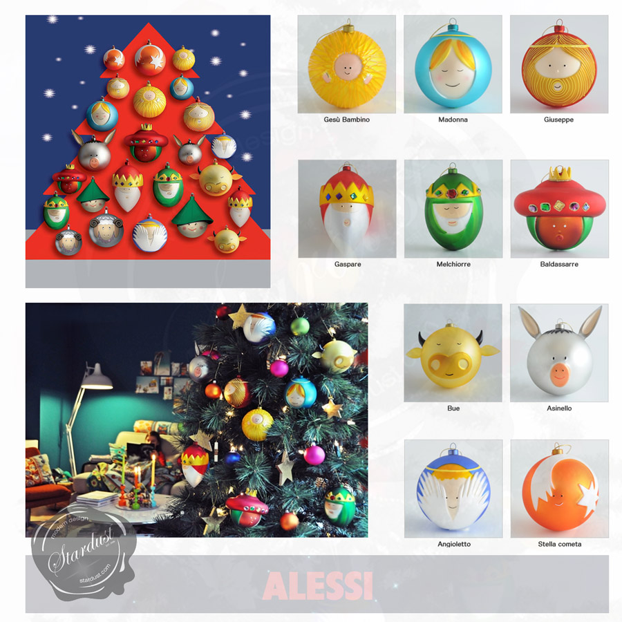 Alessi Christmas Tree Ornament