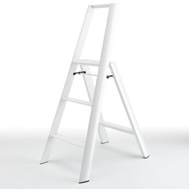 ... LightWeight™ Folding 3-Step Aluminum Step Stool - Ladder  sc 1 st  Stardust Modern Design & LightWeight™ Folding 3-Step Aluminum Step Stool - Ladder - Stool islam-shia.org
