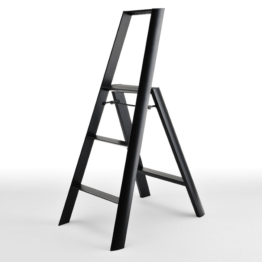 Outstanding Lightweight Folding 3 Step Aluminum Step Stool Ladder Bralicious Painted Fabric Chair Ideas Braliciousco