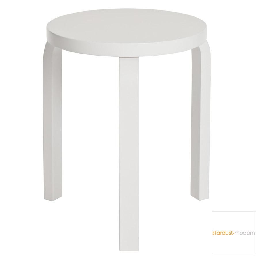 alvar aalto  stool by artek  stardust - alvar aalto  stool by artek