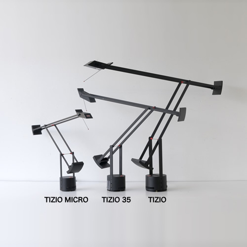 Tizio® Micro Table Lamp | Artemide:Artemide Tizio® Micro Table Lamp ...,Lighting