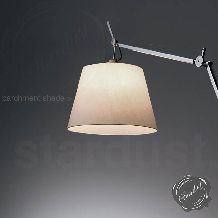 Tolomeo Wall Mount Lamp Parchment Shade : Tolomeo Wall Shade 1988 & Artemide Tolomeo Wall Shade Sconces