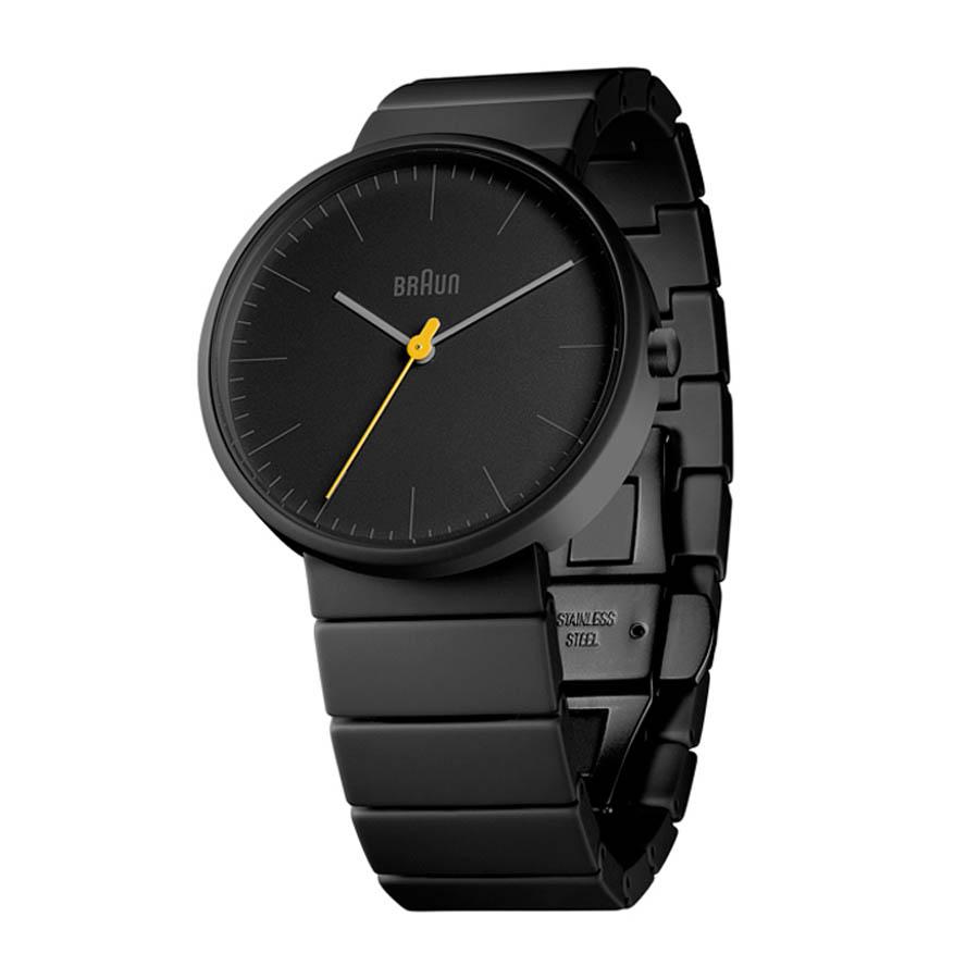 braun mod bn0171gygyg modern black ceramic men s analog wrist watch braun bn0171 modern black ceramic unisex analog watch