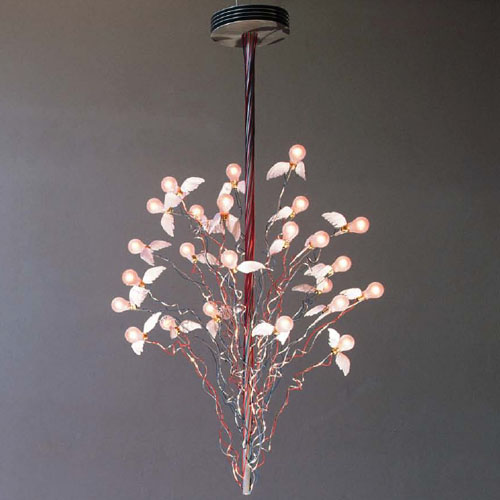 birds birds birds chandelier ingo maurer stardust. Black Bedroom Furniture Sets. Home Design Ideas