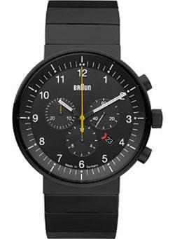 a310e0f99 Braun Chronograph BN0095BKBKBTG Modern Men's Watch - Black | Stardust