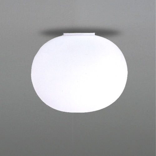 Flos Glo-Ball C2 Ceiling Lamp in White Glass | Stardust