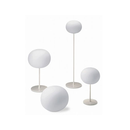 Flos glo ball c2 ceiling lamp in white glass stardust flos glo ball c2 ceiling lamp mozeypictures Images