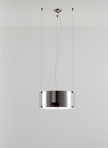 Prandina Cpl S7 Triple Modern Glass Pendant Lamp Light