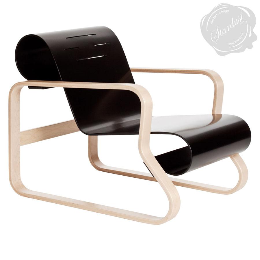 Alvar aalto paimio chair by artek stardust for Alvar aalto chaise lounge