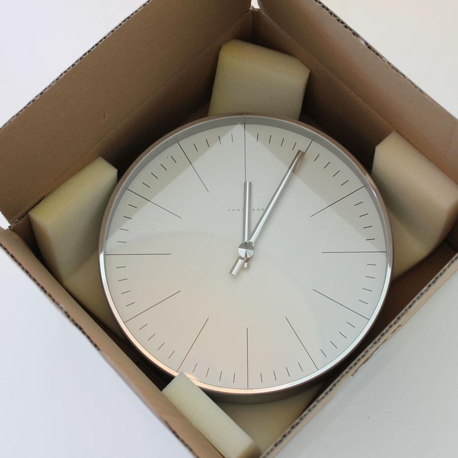 Max bill clock open box floor sample sale stardust max bill clock amipublicfo Images