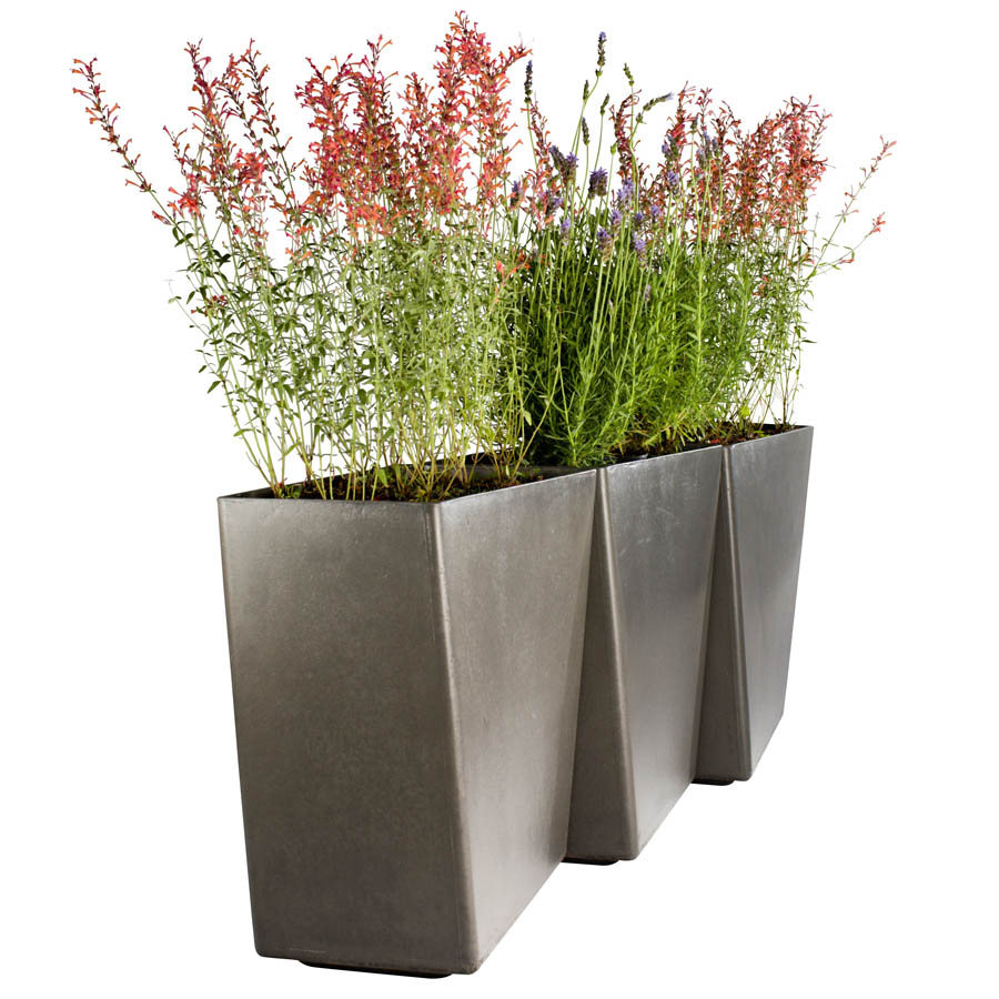 Tall Outdoor Pots Planters Modern Patio amp