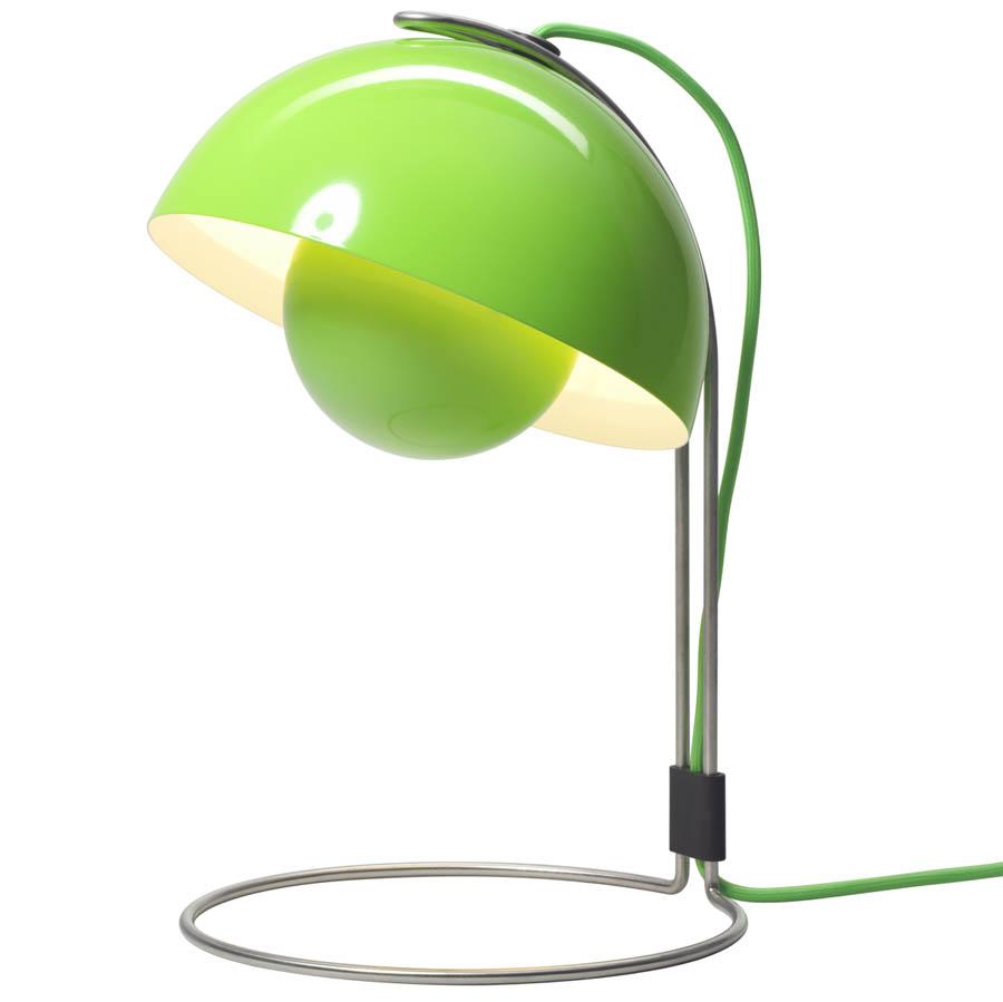 Light green table lamp - Panton Flowerpot Table Lamp Vp4 Green