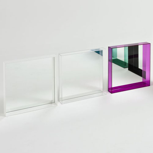 Only me square mirror kartell for Philippe starck miroir