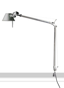Artemide Tolomeo Classic Table Lamp With In Set Pivot