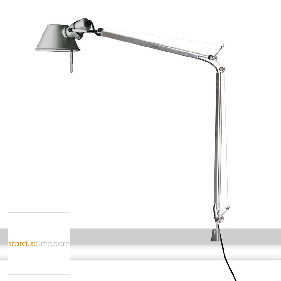 Artemide Tolomeo Classic Table Lamp With In Set Pivot Stardust