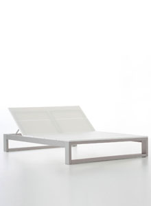 Double Outdoor Chaise Lounge Es