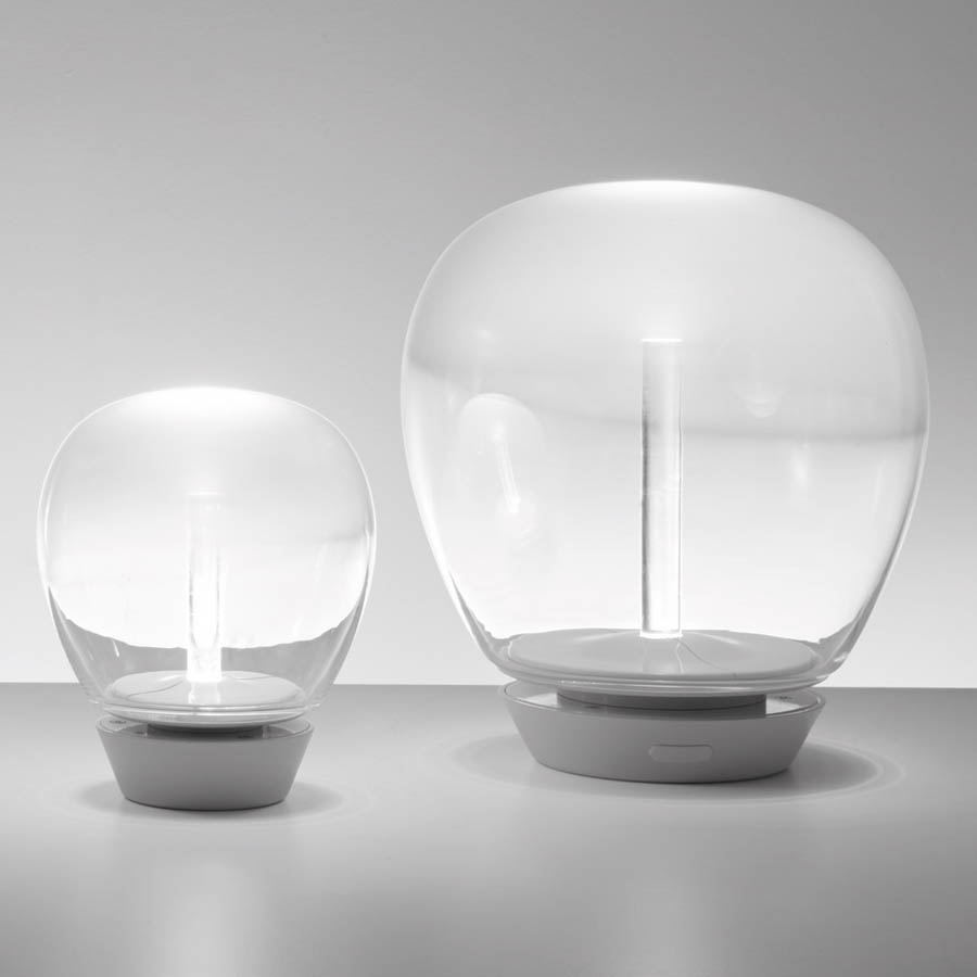Empatia led glass table lamp by artemide aloadofball Gallery