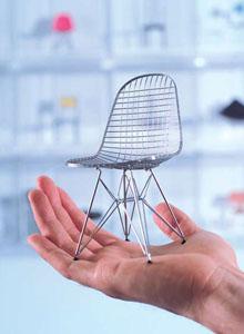 Vitra Miniatures Eames Dkr Open Box Floor Sample Sale