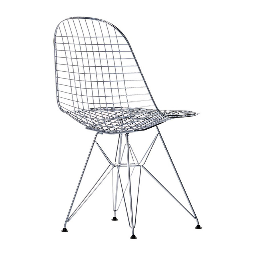 Vitra miniatures eames dkr open box floor sample sale for Chaise wire eames