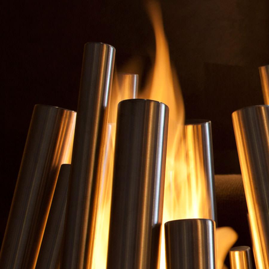 ecosmart fire stix modern ventless outdoor fireplace. Black Bedroom Furniture Sets. Home Design Ideas