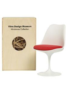 vitra miniatures tulip chair open box floor sample sale stardust