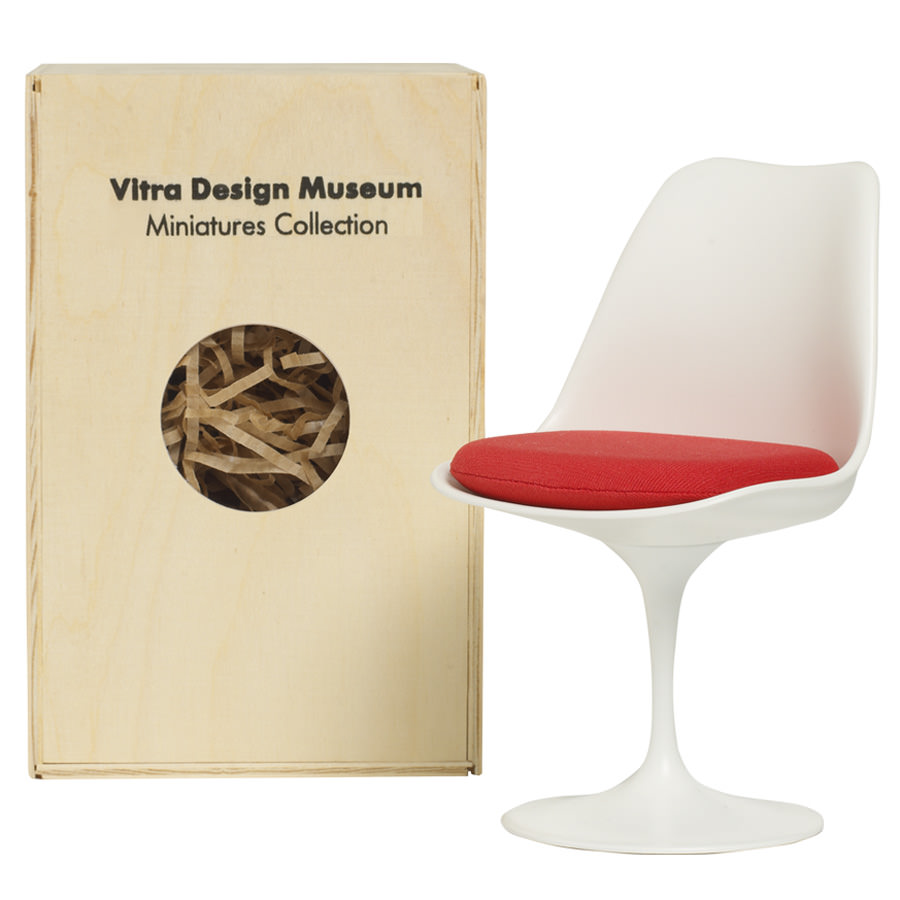Awesome Vitra Miniatures Tulip Chair ...