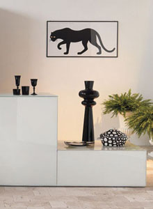 Panthera Poster by Enzo Mari: Home & Decor