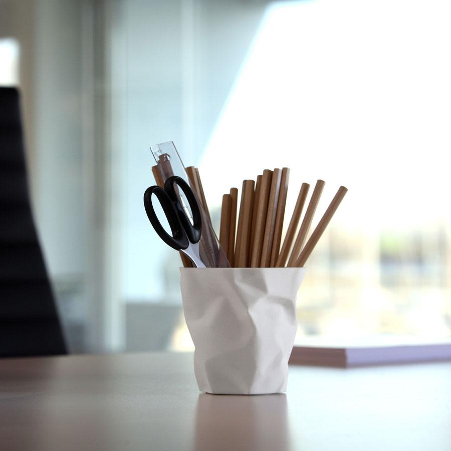 Essey Pen Pen Crinkled Cup Pen Pencil Holder Sample