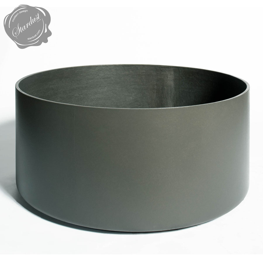 Extra Large Round Outdoor Planter Pot 30 Quot Diameter Stardust