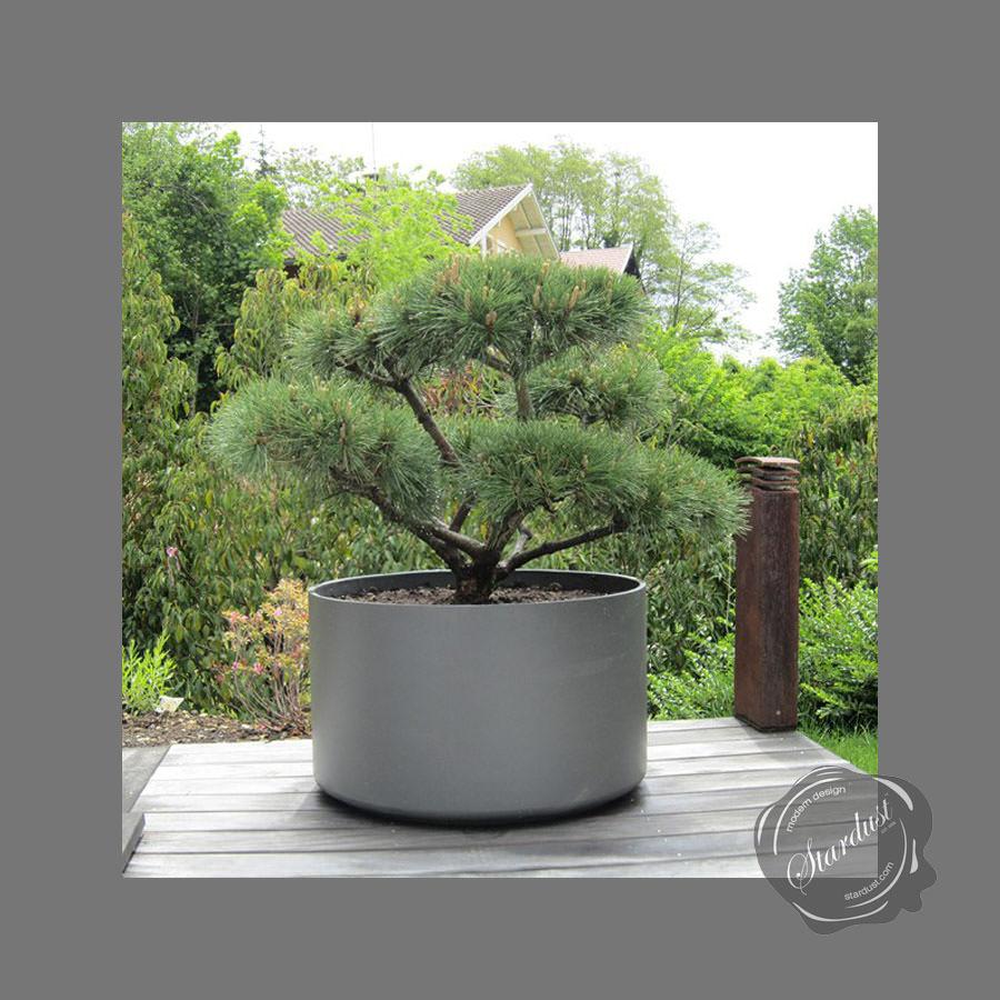Extra Large Round Outdoor Planter Pot 30 Quot Diameter Stardust