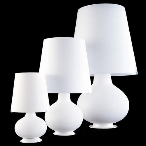 afca7ece6a5 FontanaArte Fontana Glass Table Lamp by Max Ingrand