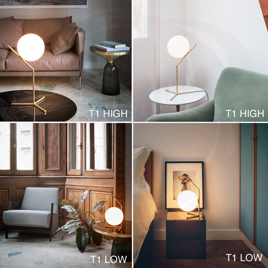 IC T Table Lamp By Flos Lighting