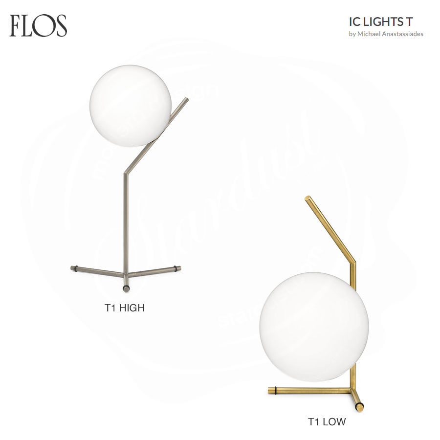 Ic t table lamp by flos lighting stardust - Ic lights flos ...