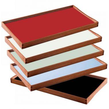 Modern serving tray Round Stardust Modern Design Turning Tray Modern Serving Trays By Finn Juhl For Architectmade