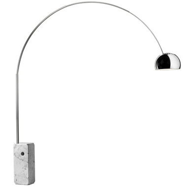 Arco Floor Reading Lamp Stardust