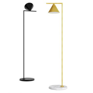 flos brass floor anastassiades light lamp main f stardust ic by michael lighting